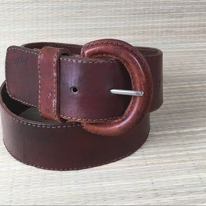 Vera Pelle  Made in Italy leather belt